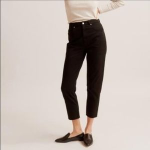 KOTN High Waist Tapered Trouser Black Size 10